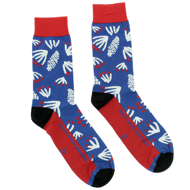 Socks Woman in a Divan