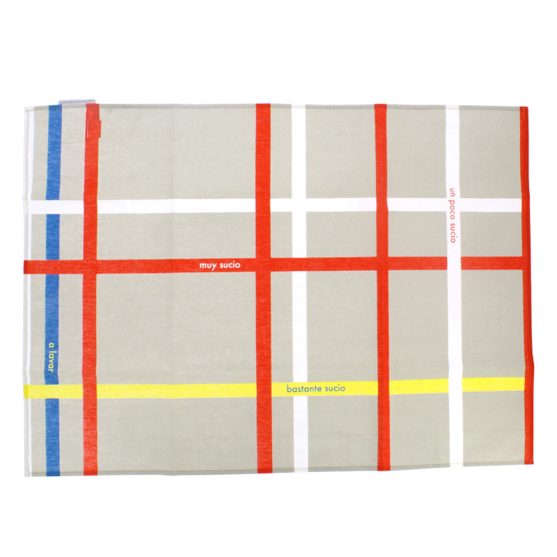 Mondrian New York City Kitchen Towel