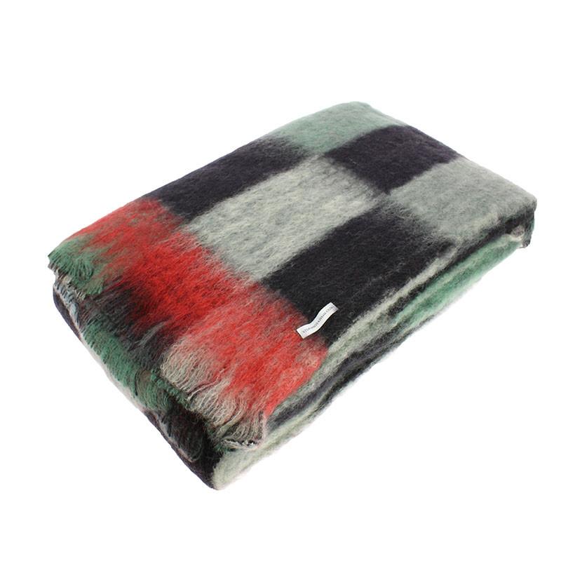 Mohair Wool Blanket. Simultaneous Dresses