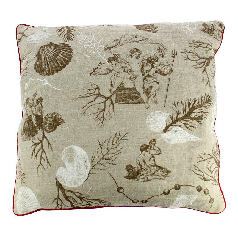 Neptune & Anphitrite Tan Cushion Sleeve