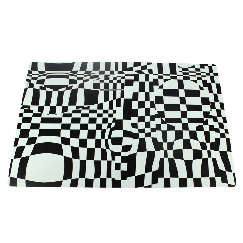 Individual placemat Square Vasarely