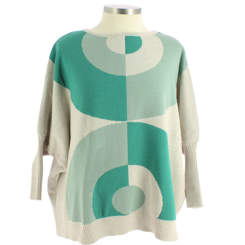 Delaunay's Portuguese Woman Wool Pullover