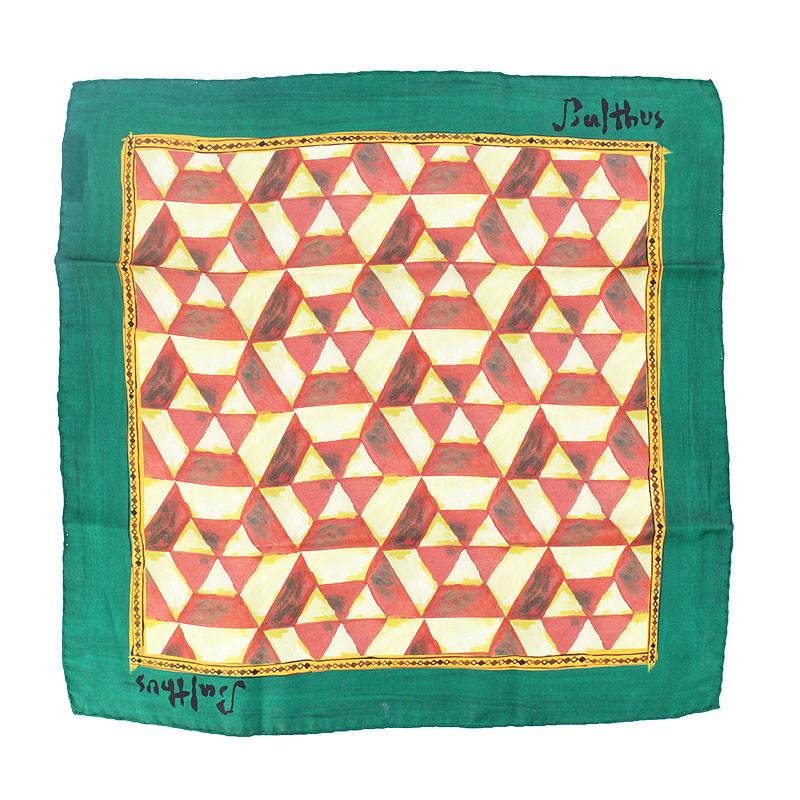 Balthus Silk Handkerchief