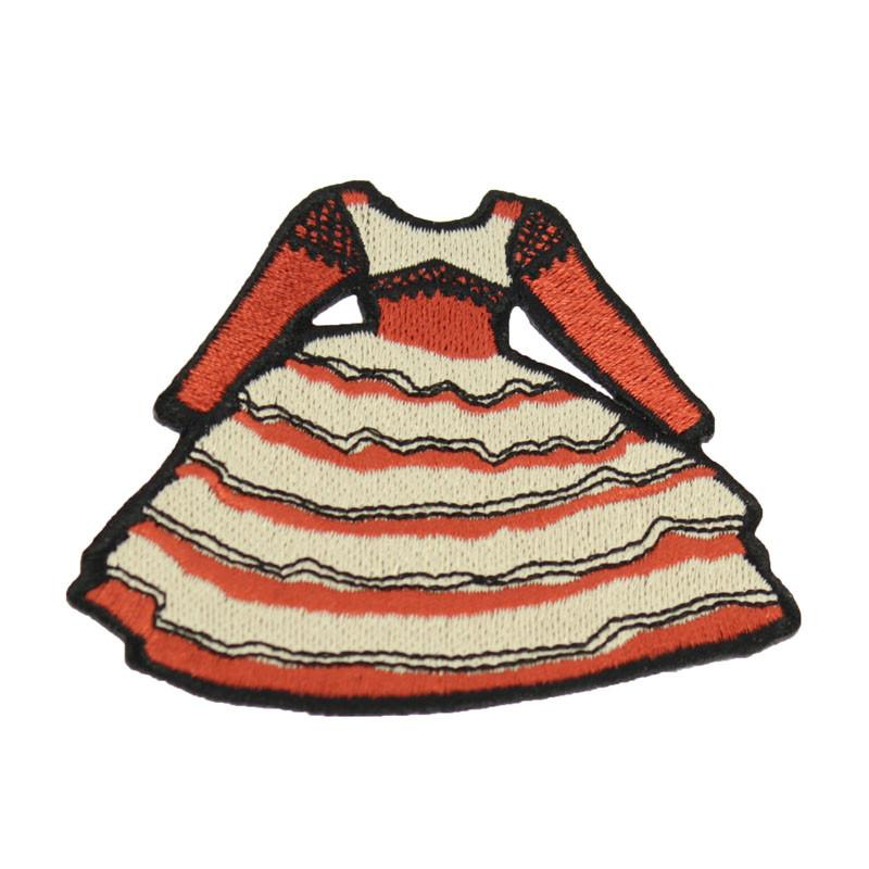 Dress Patch. Balenciaga