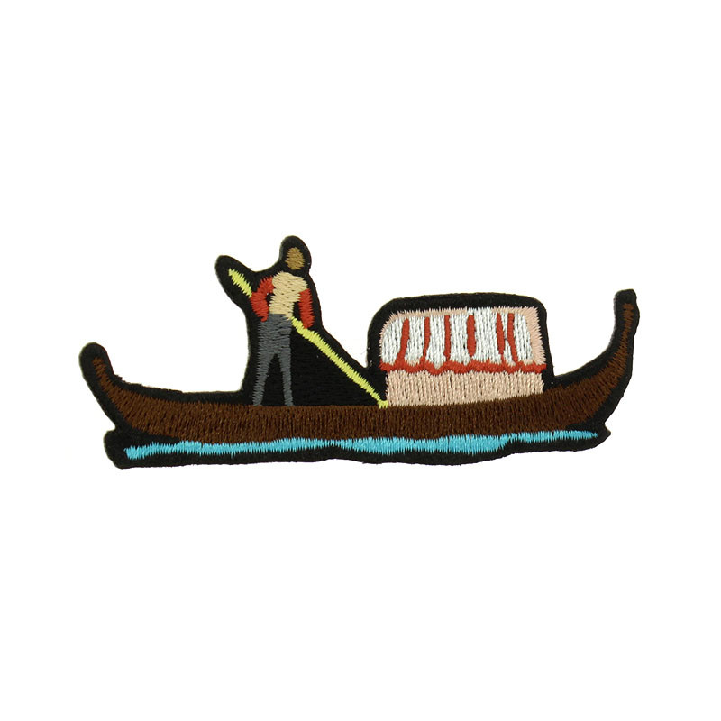 Gondola Embroidered Patch