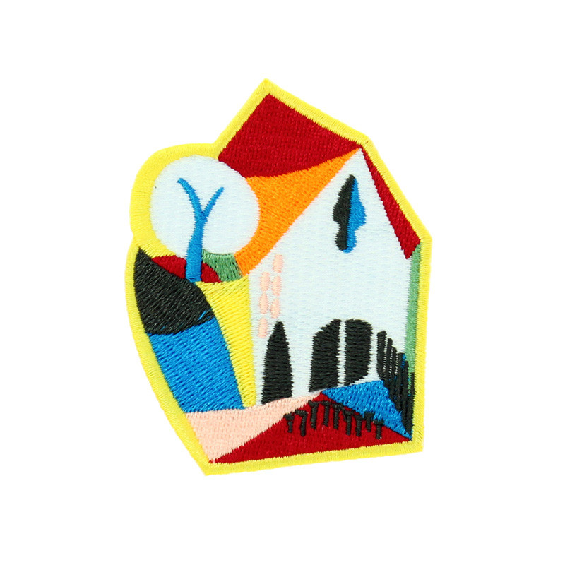 Patch Johannes Itten: Group of Houses in Spring