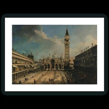Vista de la Plaza San Marco en Venecia