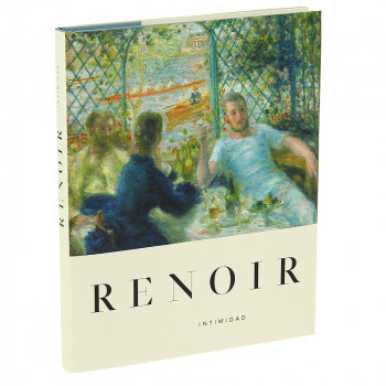 """Catalogue for the exhibition """"Renoir. Intimacy"""" (Spanish. Hardcover)"""