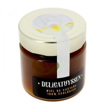 Ecologic certified chestnut tree honey