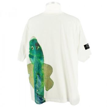 White T-Shirt Joan Jonas x ECOALF