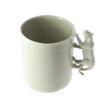 The Garden of Eden Porcelain Mug: Tiger