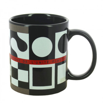Vasarely's Study on Cardboard 3-2 Mug