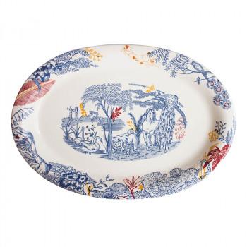 Cartuja x Garden of Eden Porcelain Platter