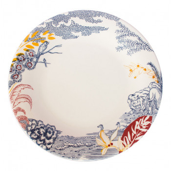 Cartuja x Garden of Eden Porcelain Dinner Plate