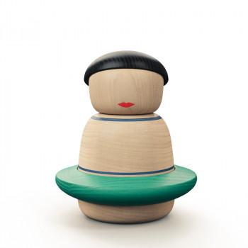 Wooden figure Dancer Motleys