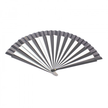 Black and White Fan. Balenciaga