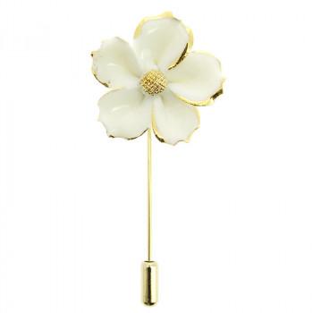 van der Ast Petunia Lapel Pin by Andrés Gallardo