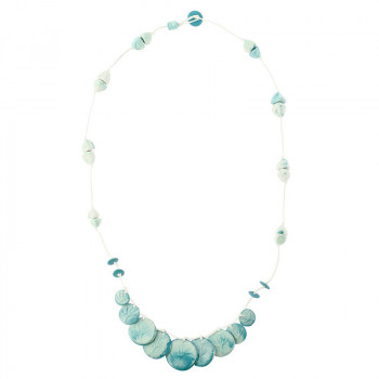 Porcelain Choker Necklace The flood in Port Marly Sisley