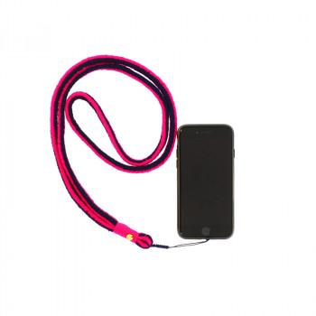 Fuchsia/blue O'Keeffe Mobile Cord