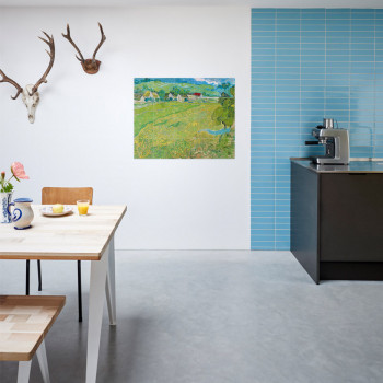 IXXI Mural decoration system 100 X 80 Van Gogh Les Vessenots in Auvers