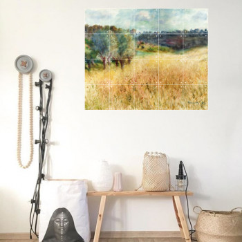 IXXI Mural decoration system 100 X 80 Renoir´s Wheatfield