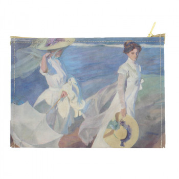 Sorolla's Strolling along the Seashore Case