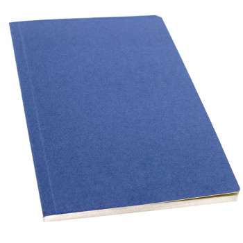 Blue cover with sand color pages Notebook