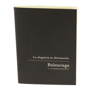 Notebook. Balenciaga exhibition