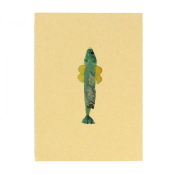 Green Fish Notebook. Joan Jonas