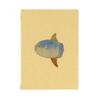 Blue Fish Notebook. Joan Jonas