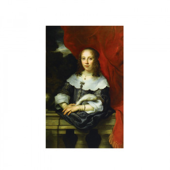 Rembrandt sewn white notebook