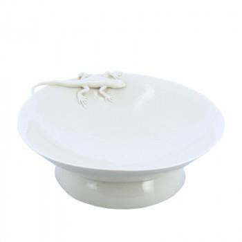 Yukiko Porcelain Plate Lizard