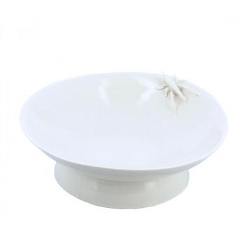 Yukiko Porcelain Plate Grasshopper