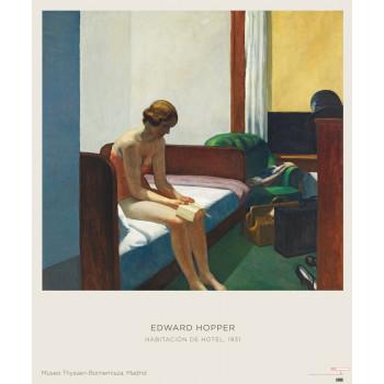 Poster Edward Hopper: Hotel Room