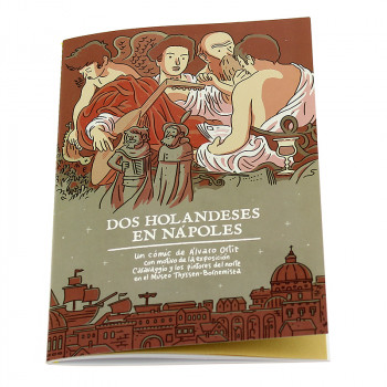"Comic book ""Dos holandeses en Nápoles"" (Spanish)"