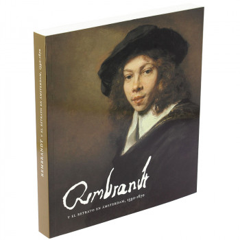 """Exhibition catalogue """"Rembrandt and Amsterdam portraiture, 1590-1670"""" (Spanish paperback)"""