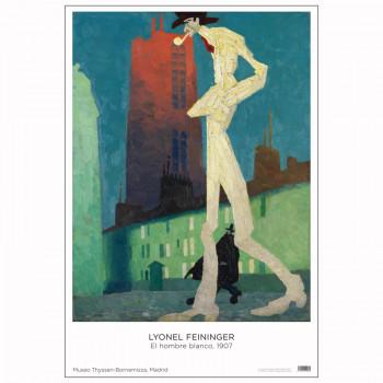 Poster Lyonel Feininger. The White Man, 1907