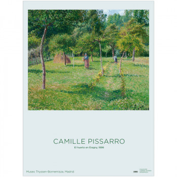 Poster Pissarro: The Orchard at Éragny