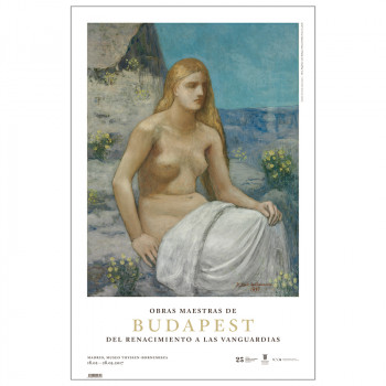 Poster Puvis de Chavannes Mary Magdalene