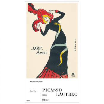 Poster Jane Avril (Toulouse-Lautrec)