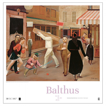 The Street Poster by Balthus