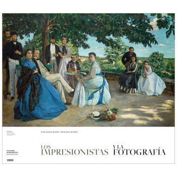 Poster of the temporary exhibition The Impressionists and Photography