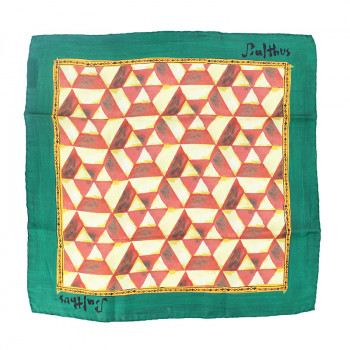 Balthus Silk Handkerchief