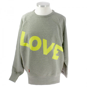 Love, Love, Love Lime Sweartshirt