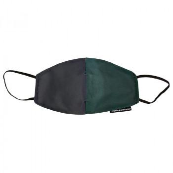Mark Rothko Green on Maroon Face Mask