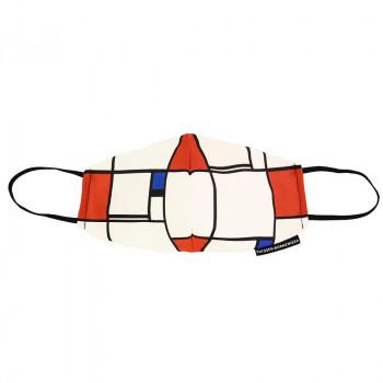Piet Mondrian Composition No. I Face Mask