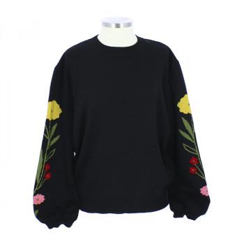La Casita de Wendy Black Wool Pullover + Linard