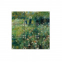 """small IXXI Mural decoration system 60 x 60 cm Renoir's """"Woman with a Parasol in a Garden"""" 0"""