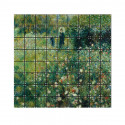 """small IXXI Mural decoration system 180 x 160 cm Renoir's """"Woman with a Parasol in a Garden"""" 0"""