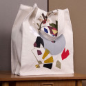 small Large Canvas Bag: The Bathers by Max Pechstein 1